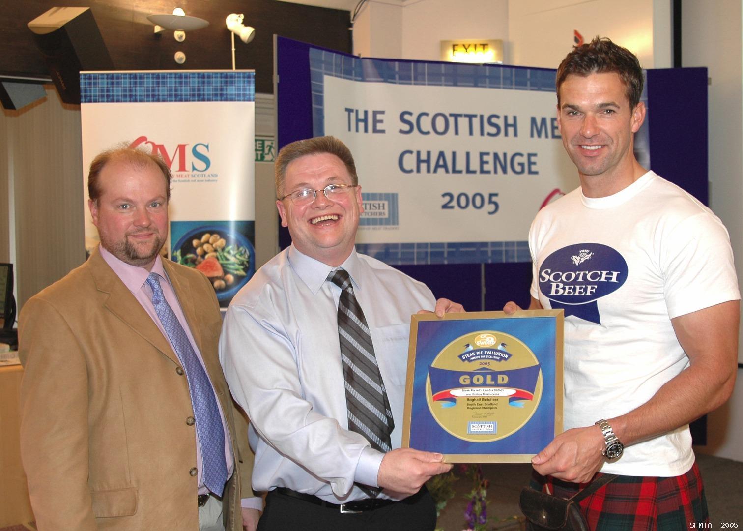 Scottish Craft Butchers   2005_TRADITIONAL_STEAK_PIE_AWARDS