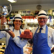 Scottish Sliced Sausage Champion 2016-17