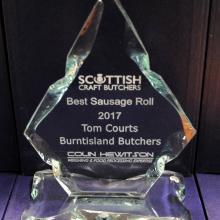 Best Sausage Roll - Tom Courts Burntisland