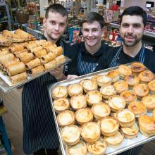 Blair Drummond Smiddy celebrate their gold award winning Scotch Pies & Sausage Rolls