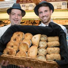 Fergusons of Airdrie with their award winning pies and bridies