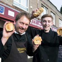 Award winning pies from Grossetts of Tayside