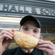 Award winning Chicken Curry Pastie from J Hall & Sons, Kirkcudbright