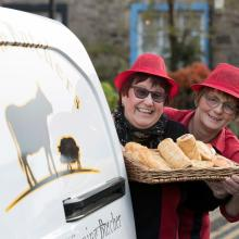 Award winning pies from Elaine McKirdy at Linton Butchers, East Lothian