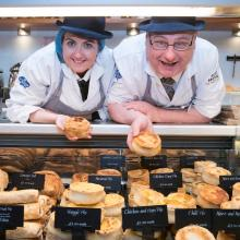 Award winning pies from Scott Brothers, Broughty Ferry