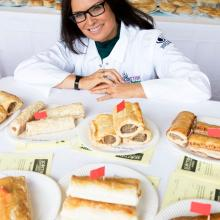 Judith Ralston judges at SCB Savoury Pastry Awards